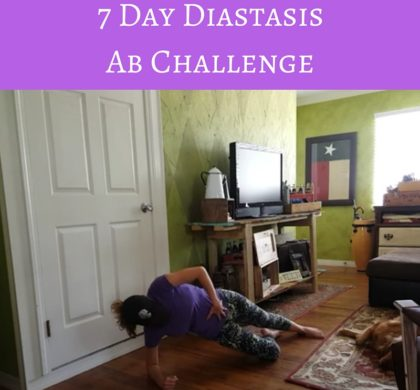 7 Day Diastasis Ab Challenge